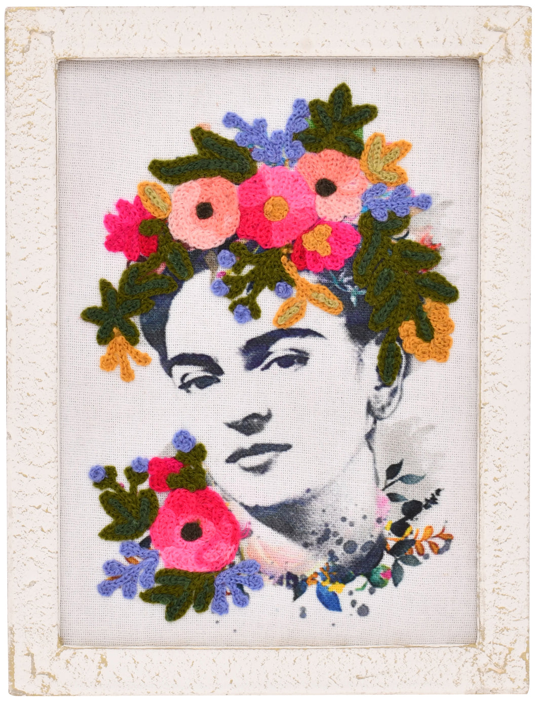 Frida is Alive Embroidery Wall Art 6