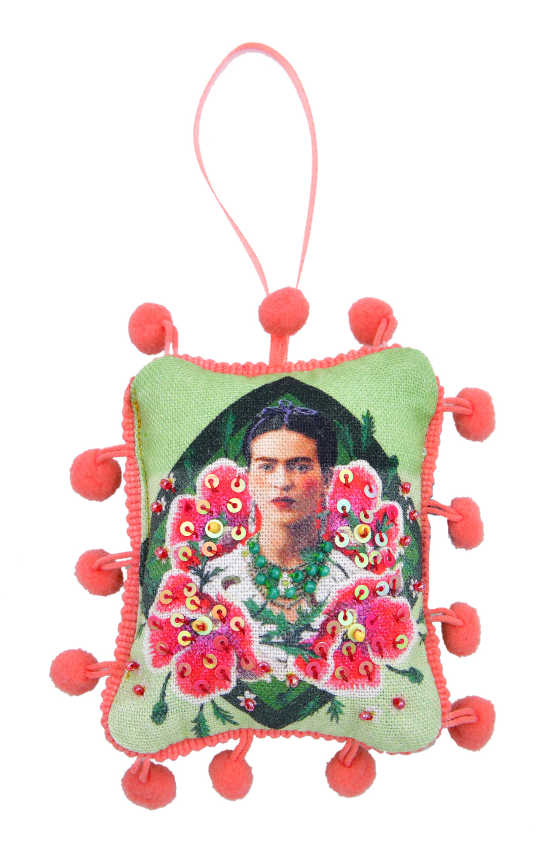 Frida Green Ornament