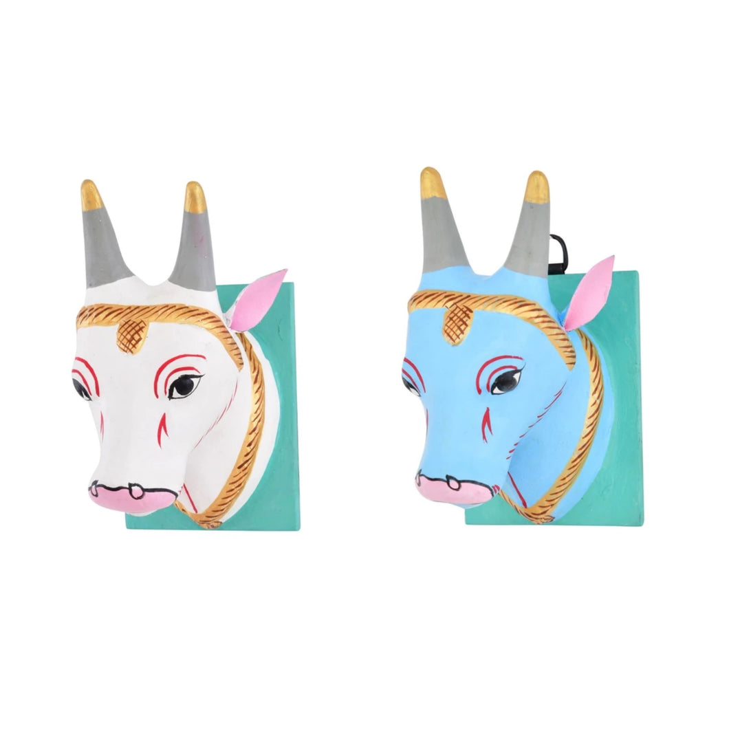 Large Cow Wall Mount Set