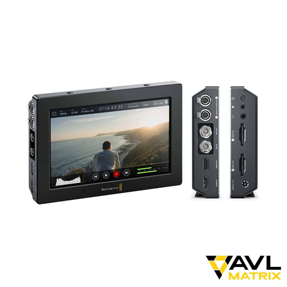 Blackmagic Design Video Assist 4k 7 Inch