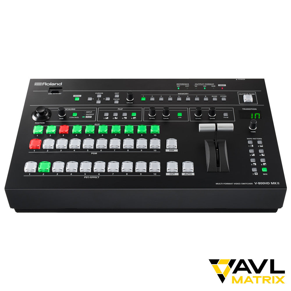 Roland V-800HD MK II Video Production Switcher