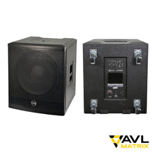 "Load image into Gallery viewer, Soundbarrier PK-118A - 1800W 18"" Active Subwoofer"
