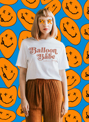 Balloon Babe Tee