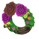 Dark Rose Wreath