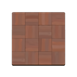 Dark-Block Flooring