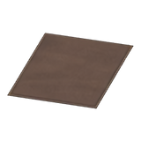 Simple Small Brown Mat
