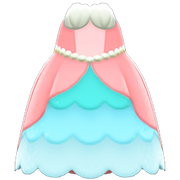 Mermaid Princess Dress