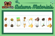 Autumn Materials Collection