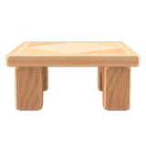 Wooden-block Table