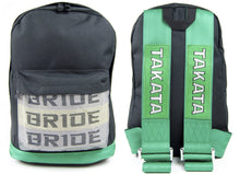 Load image into Gallery viewer, JDM RACING BACKPACK / TAKATA & BRIDE