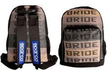 Load image into Gallery viewer, JDM RACING BACKPACK / SPARCO & BRIDE
