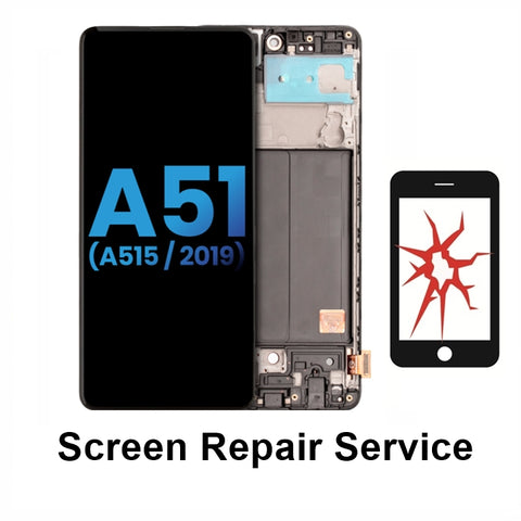 Samsung A51 Crack Screen