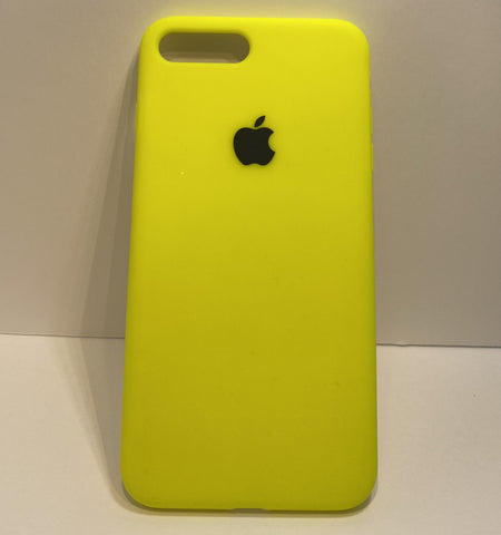 Neon Yellow Silicone Case