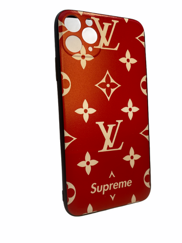 iPhone 11 luxury case LV style