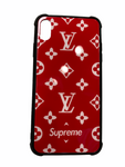 Red LV Supreme Case