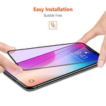 9H 2.5D Anti Blue Ray Purpel Light Tempered Glass