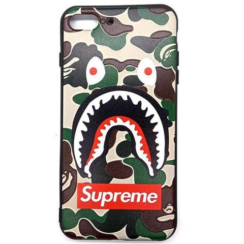 iPhone Supreme Army Monster Case