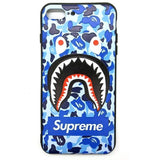 iPhone Supreme Case Blue Monster