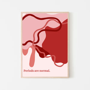 Periods Are Normal Print: Organic