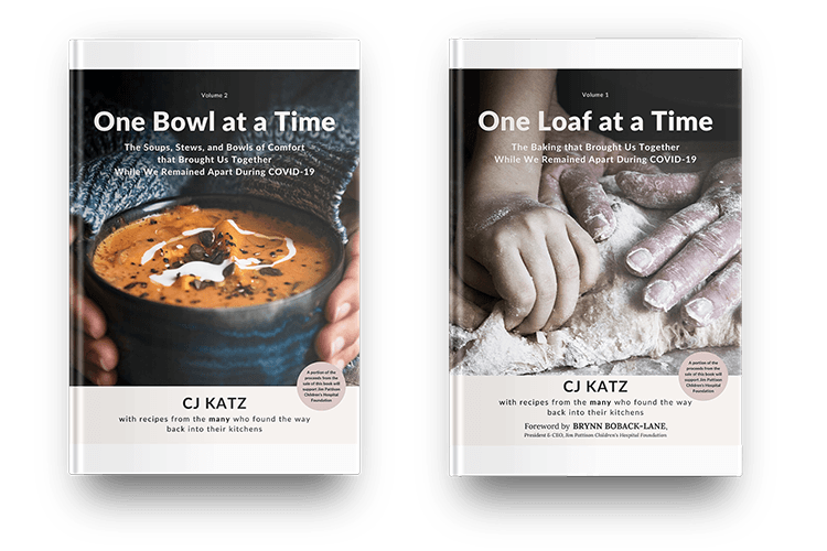 Beautiful Keepsake Hard Copy with Both 'One Loaf at a Time' and 'One Bowl at a Time.'