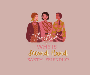 Why is buying second-hand clothing earth-friendly?