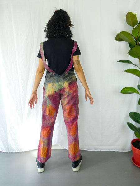 Vintage Full Length Tie Dye Dungaree