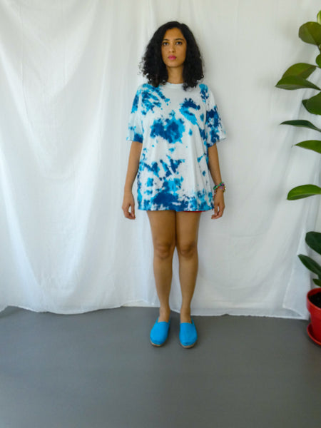 Perfect Blue Tie-Dye T-shirt