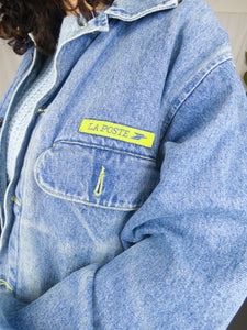 Rare Vintage French Worker La Poste Jacket