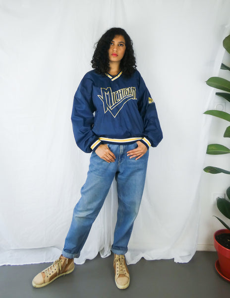 Vintage Michigan Wolverines Varsity Jacket || Américain Vestes de football