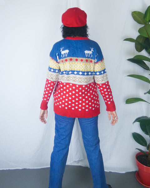 Rare Vintage Quirky/ Ugly Christmas Sweater