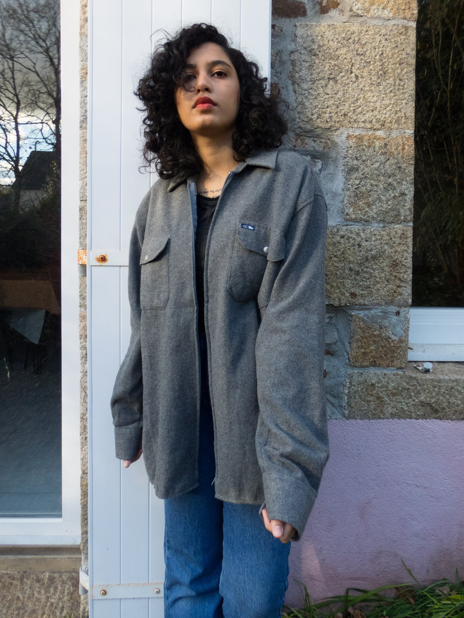 Vintage I Americano Grey Winter Shirt