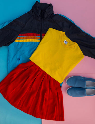 BUY THE LOOK - RAINBOW ATHLEISURE (SIZE - SMALL TO MEDIUM)