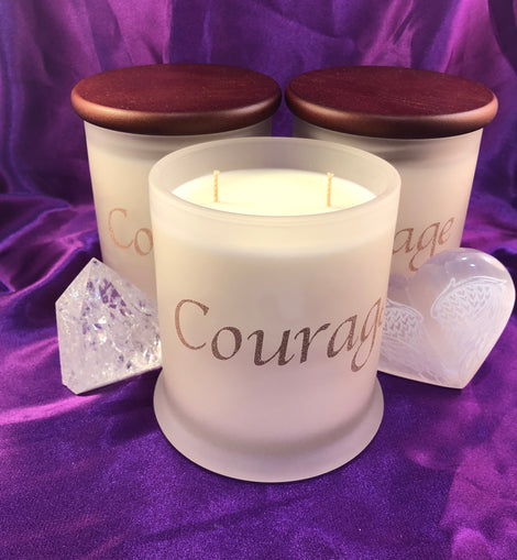 Personalised Candle Set