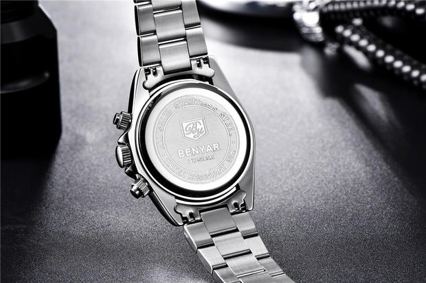 Men Watches Top Luxury BrandFull Steel Waterproof Sport Quartz Watch