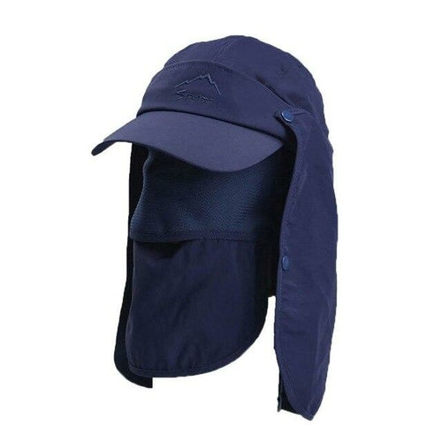 Outdoor Flap Caps Quick Dry 360 Degree Protection Sunshade Breathable