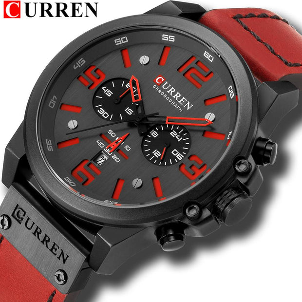 Fashion Classic Chronograph Watch Men Brand Sport Men's Watches Casual