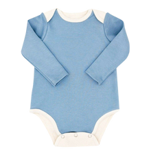 Load image into Gallery viewer, Long Sleeve Bodysuit Baby - Blue Bodysuit Baby
