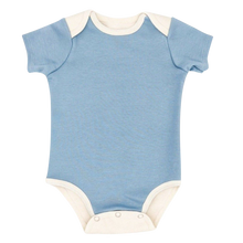 Load image into Gallery viewer, Short Sleeve Bodysuit Baby - Blue Bodysuit Baby