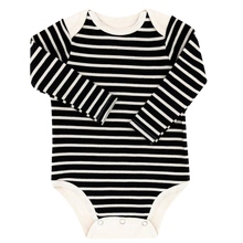 Load image into Gallery viewer, Long Sleeve Bodysuit Baby - Striped Bodysuit Baby