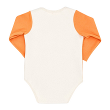 Load image into Gallery viewer, Orange Bodysuit Baby - Long Sleeve Bodysuit for Baby