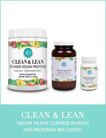 Clean & Lean 14 Day Vegan Cleanse Bundle (no program included)