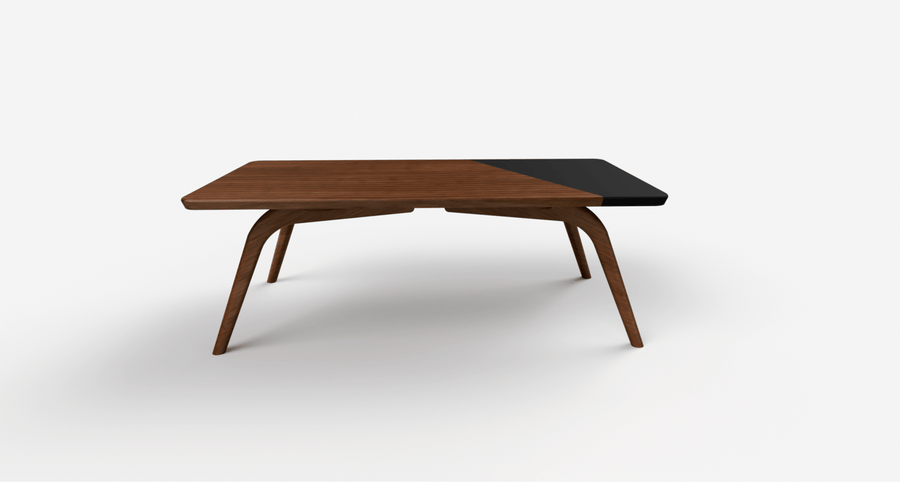Dipped Walnut™ Coffee Table - Dark Chocolate - studiovestri