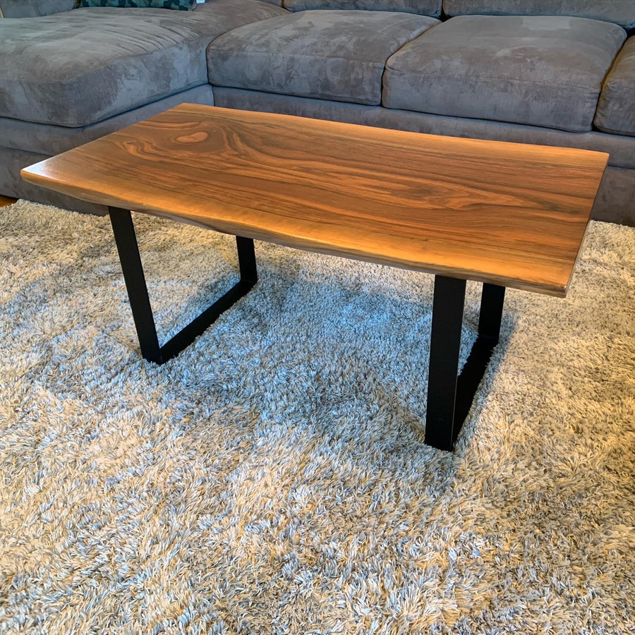 Live Edge North American Black Walnut Coffee Table
