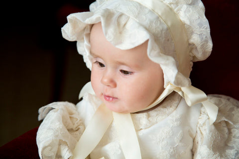 The Windsor heirloom christening gown