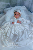 The Brocade Charles christening gown