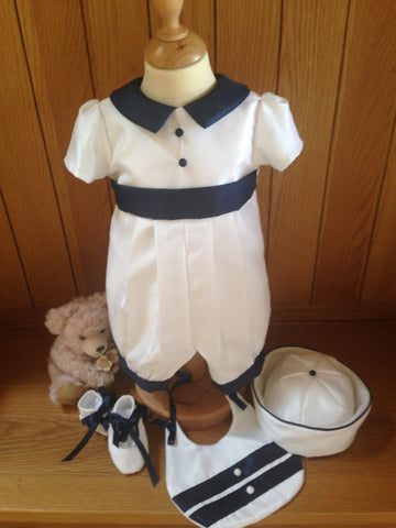 The Edward christening outfit set.