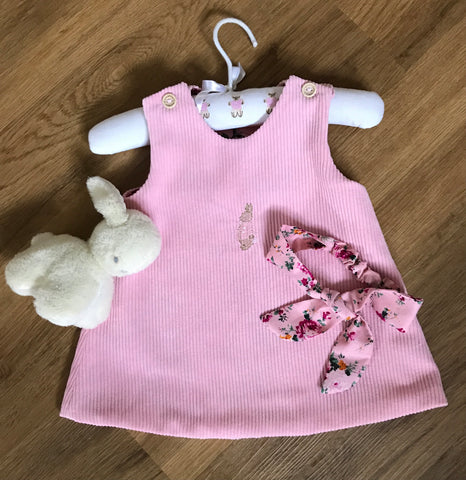 Peter Rabbit Pinafore dress and headband