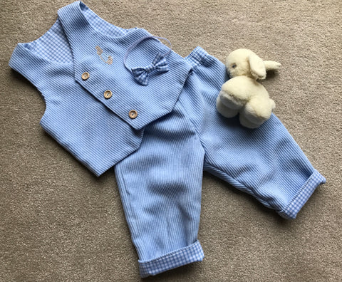 Waistcoat, Trousers and Bow Tie Peter Rabbit Set