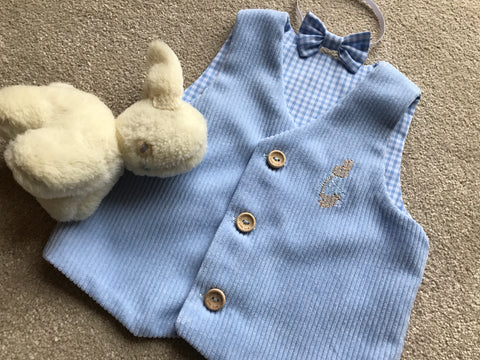 Peter Rabbit Waistcoat and bow tie set