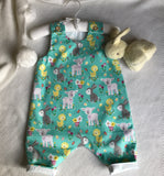 Unisex Easter Romper / Dungarees - Made in the UK